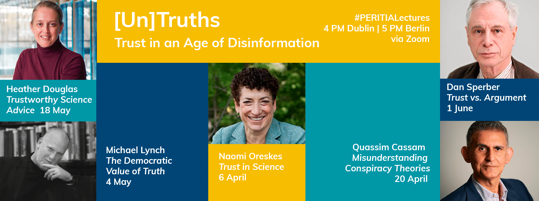 PERITIA Public Lectures on Trust in an Age of Disinformation